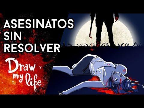 Los ASESINATOS sin RESOLVER más EXTRAÑOS - Draw My Life en Español