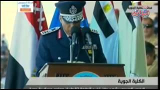 الرئيس السيسي يشهد حفل تخرج الدفعة 82 طيران وعلوم عسكرية جوية ج 8