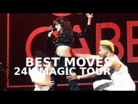 CAMILA CABELLO BEST MOVES: 24K MAGIC TOUR