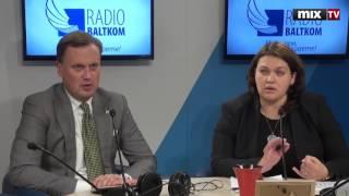"""Инга Антане и Эдгар Таварс в программе """"Voice Control"""" #MIXTV"""