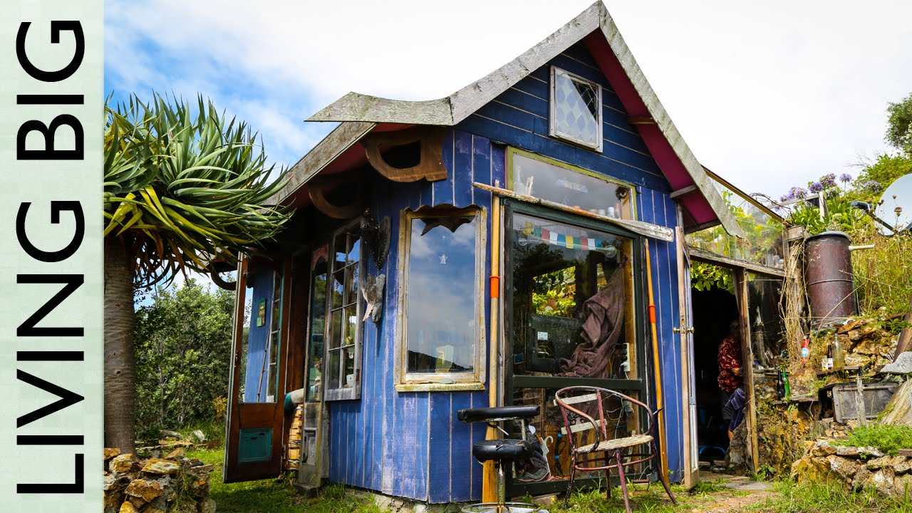 Incredible tiny house overlooking the ocean youtube