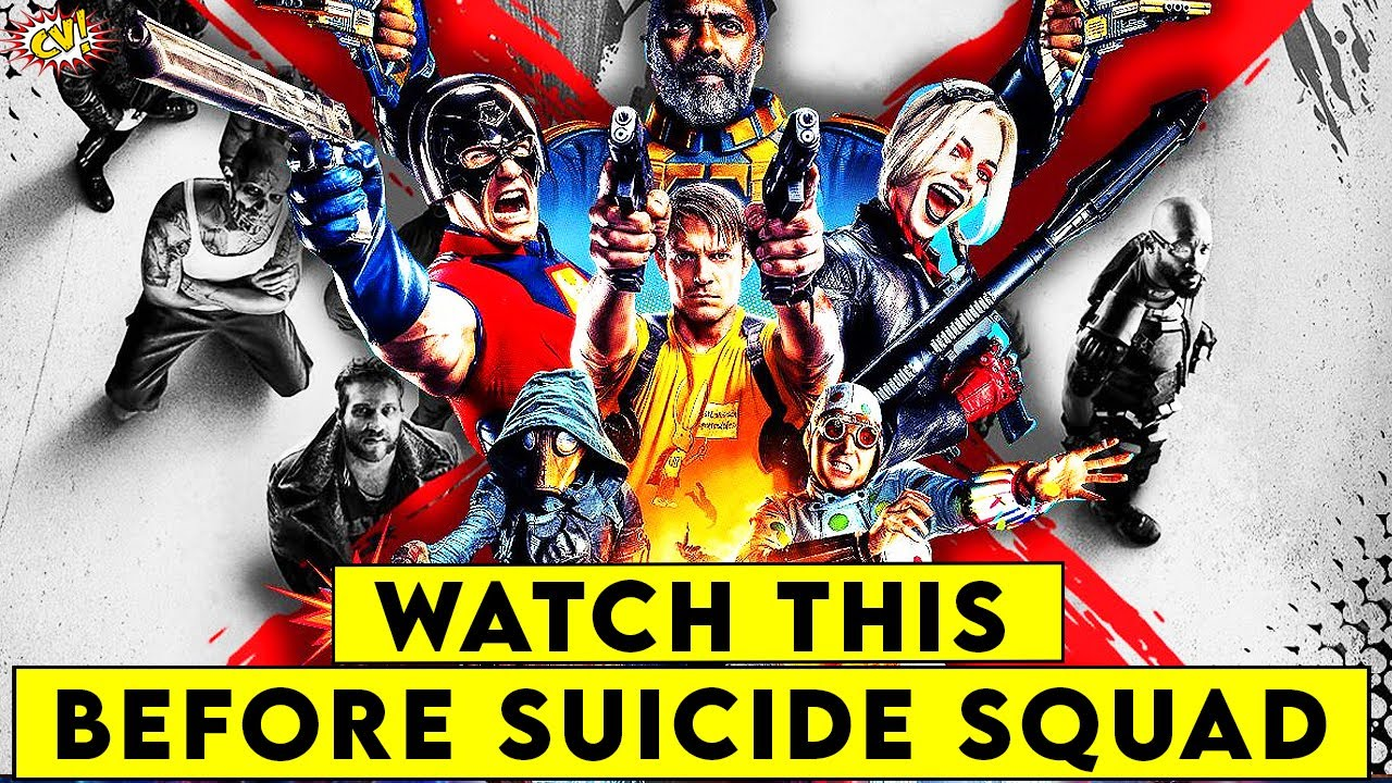 Watch This Before The Suicide Squad || ComicVerse
