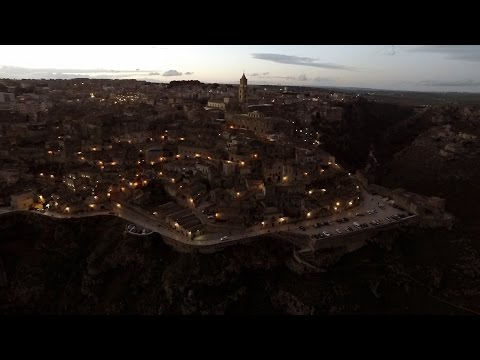 Aerial Video - Il fascino dei Sassi di Matera