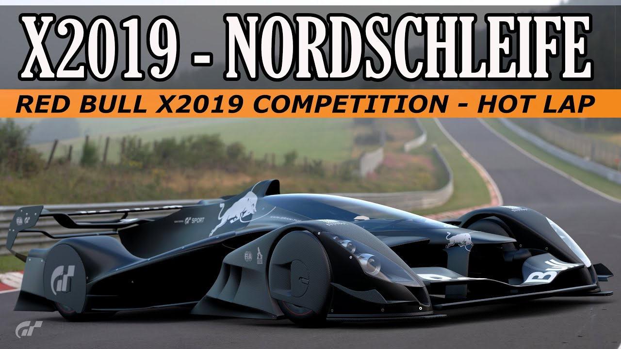 GT Sport - Red Bull X2019 Competition - Nordschleife Hotlap 5:26.497