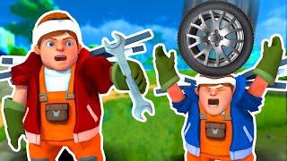 ПОСТРОИЛИ НАСТОЯЩИЙ ПАРОВОЙ ДВИГАТЕЛЬ в Scrap Mechanic!!!
