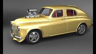 #583. GAZ M-20 Pobeda Tuning [RUSSIAN CARS]