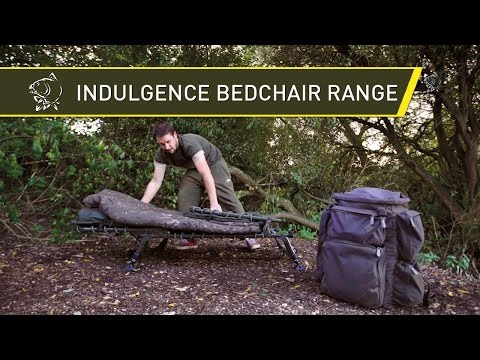 Nash Tackle Indulgence Bedchairs and Accessories 2016