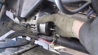 Замена щеток генератора на ВАЗ-2114 - фото и видео, основные неисправности и цена