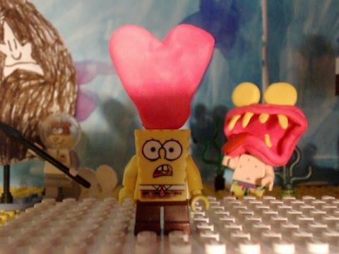 Lego Spongebob Valentines Day
