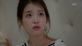 [HIT] 프로듀사 - 아이유, 잠 깨자마자 김수현 보고 깜짝... 감동해 눈물 '펑펑'.20150620