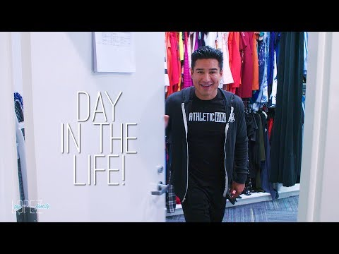 A Day in the Life of Mario Lopez at Work!