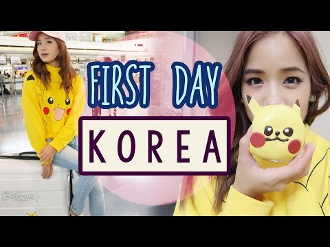 First Day in KOREA | Shop in GANGNAM Ft. Sunnydahye & Bambigirl