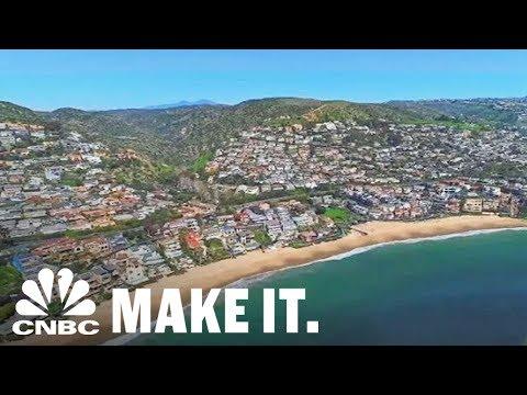 Inside An $18 Million Laguna Beach Mansion | CNBC Make It.