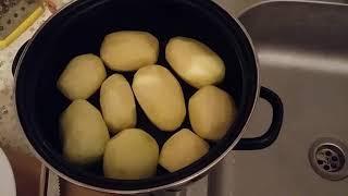селедка с картошкой!  Пикантный ужин!