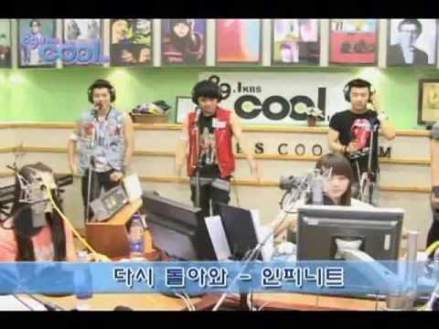 100630 Infinite + Sistar - full show @ Lee Sooyeong's Music Show