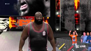 WWE 2K16 Mark Henry Entrance  (Xbox One/PS4)