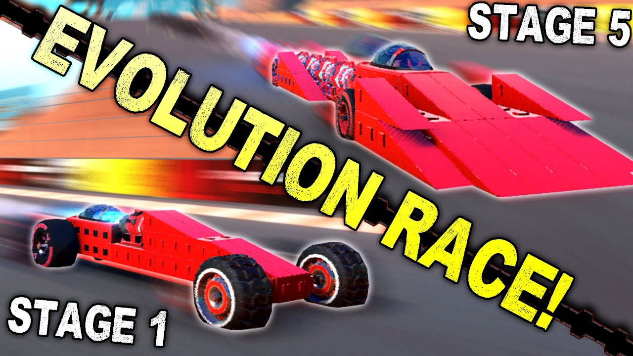 We Used Evolution to Create The Best Dragster! - Trailmakers Multiplayer - download from YouTube for free