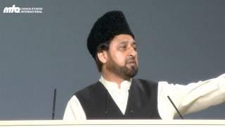 Urdu Speech: Khilafat Establishes the Kingdom of Allah on the Earth - Jalsa Salana Canada 2013