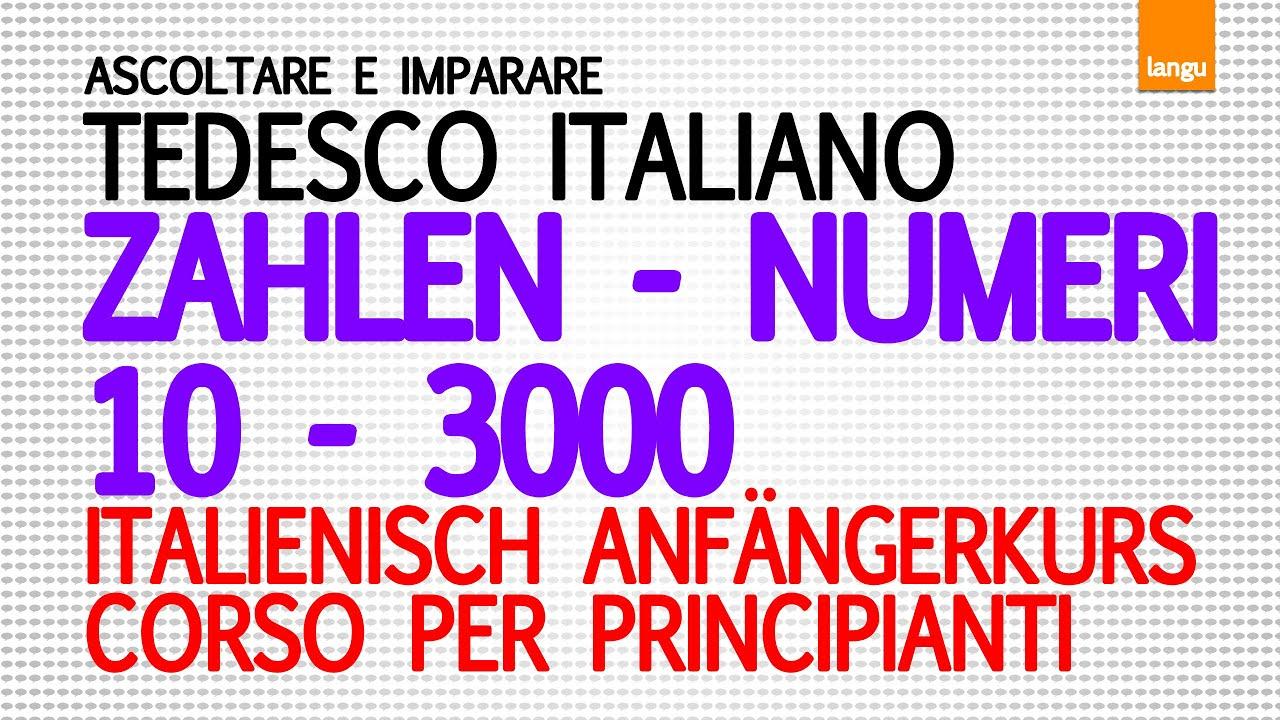 Italienisch 1 10