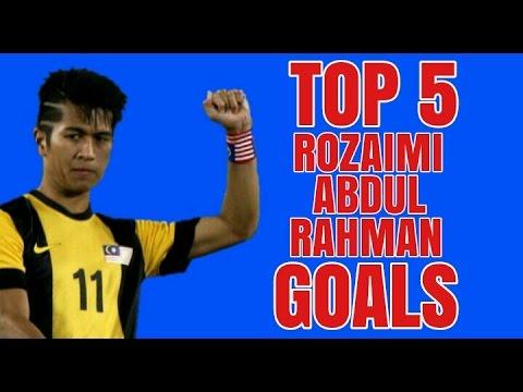 Top 5 Rozaimi Abdul Rahman Goals