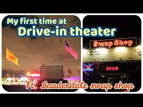 112717│來去汽車電影院看電影│Drive-in theater│Ft. Lauderdale swap shop