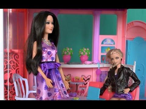 Видео с куклами Барби, Жизнь в доме мечты, серия 484 ...