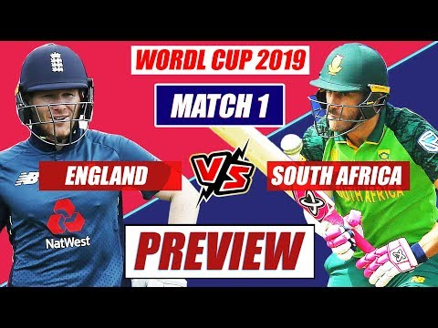 World Cup 2019 England Vs South Africa 1st Match PREVIEW: Hosts Seeks To Outclass SA In WC Opener