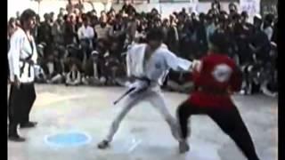 Luta real Kung Fu contra Taekwondo