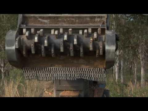 Terex-ASV PT-100 Forestry with ASV Mulcher, by Fecon