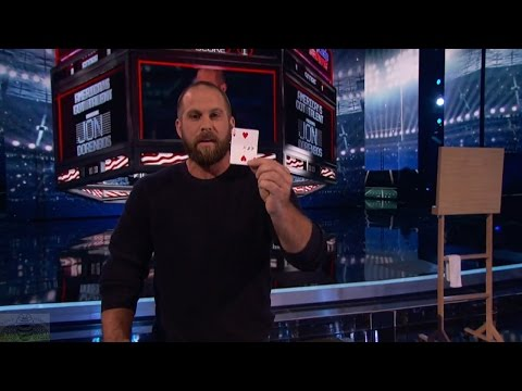 America's Got Talent 2016 Finals Magician Jon Dorenbos Philadelphia Eagles S11E22
