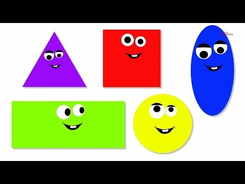 Shape Song | Shapes Song | preschool