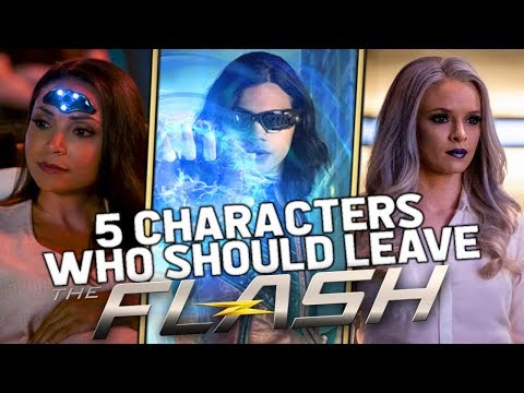 5 Characters Who Should Leave The Flash This Season - The Flash Season 5