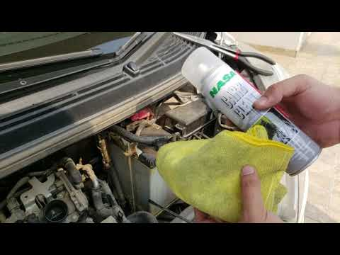 Daihatsu Move  Throttle Body Cleaning without removing the throttle assembly in URDU/HINDI