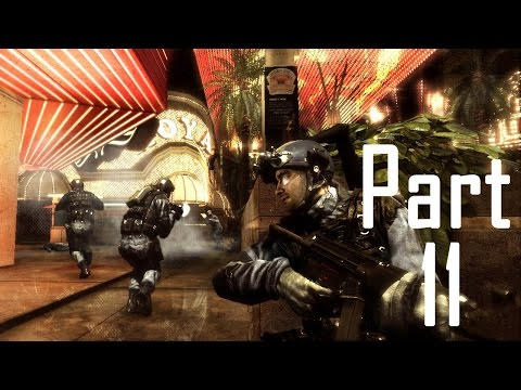 Rainbow Six Vegas 2 Walkthrough Gameplay ACT 11 Campaign Mission 11 [ Casino ]
