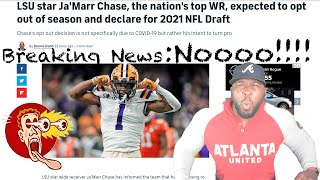 Breaking News SHOCKING: LSU STAR Ja'Marr Chase OPTS OUT!!!