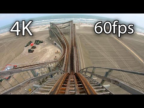 Great White front seat on-ride 4K POV @60fps Moreys Piers