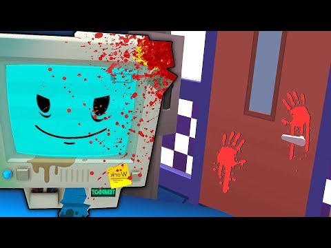 TEMP BOT'S SECRET MURDER VICTIM REVEALED (Insane...) | Job Simulator VR Infinite Overtime HTC Vive)