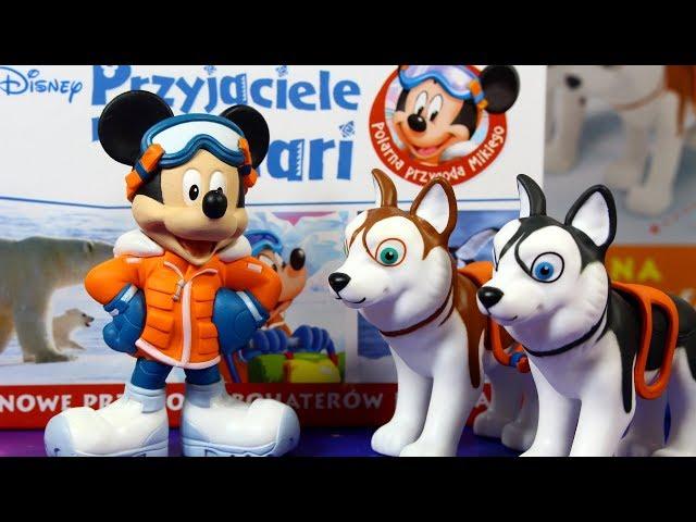 Przyjaciele na Safari • Wydanie specjalne • Disney • Myszka Miki & Pieski Husky • Encyklopedia