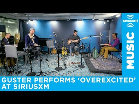 """Guster performs """"Overexcited"""" at SiriusXM"""