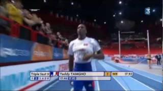 Athlétisme | Teddy Tamgho | World record