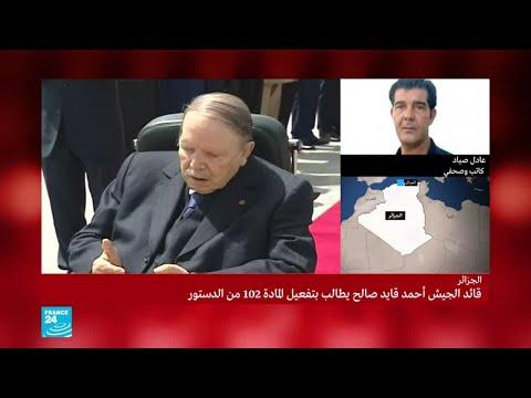 عادل صياد: -موقف الجيش جاء نتيجة الحراك الشعبي في الجزائر-