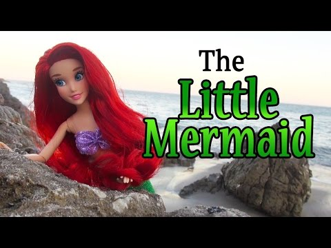 Story for Kids w/ Toys & Dolls !! THE LITTLE MERMAID Family Fun Fairytale With Disney Princess Ariel