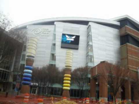 Time Warner Arena in Charlotte, North Carolina