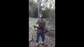 """How to squirrel hunt With your host: Bobby """"skin it back"""" Backwoods (IMPROV)"""