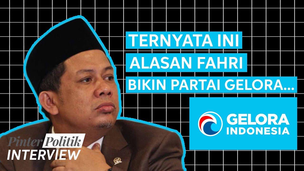 Fahri Hamzah dan Jalan Politik Partai Gelora | Wawancara bersama Fahri Hamzah