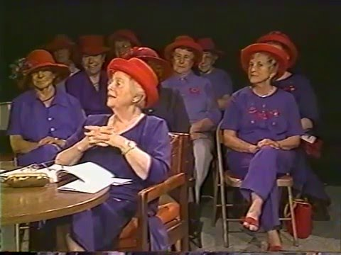 Jerry's Place - The Red Hat Society