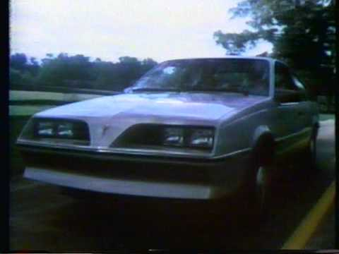 1981 Pontiac J2000 (Sunbird) commercial.