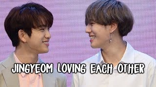 Jinyoung and Yugyeom ACTUALLY Loving Each Other