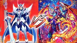 "Legend Decks: Blaster Blade Exceed Vs. Dragonic Overlord ""The Legend"" Cardfight Vanguard G"