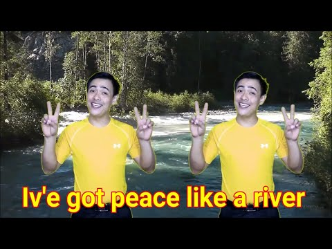 IV'E GOT PEACE LIKE A RIVER  WITH ACTION